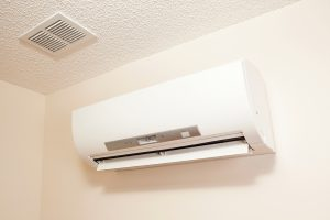 ductless-ac-unit-on-wall